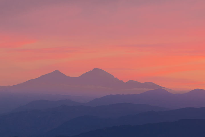 Purple Mountains Evening